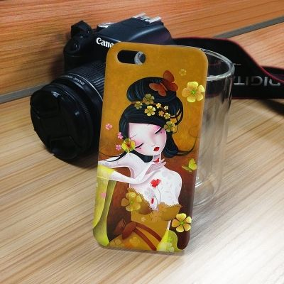 Elegant Sexy Lady Pattern Protective Plastic Back Case for iPhone 5 #Cases #cases #iPhone5