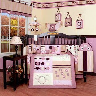 Geenny Elephant Dynasty Boutique 13 Piece Crib Bedding Set images