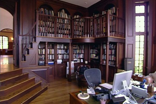 Hillcrest Estate | Library study room, Home libraries, Home