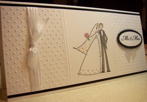 Wedding card  A10 size