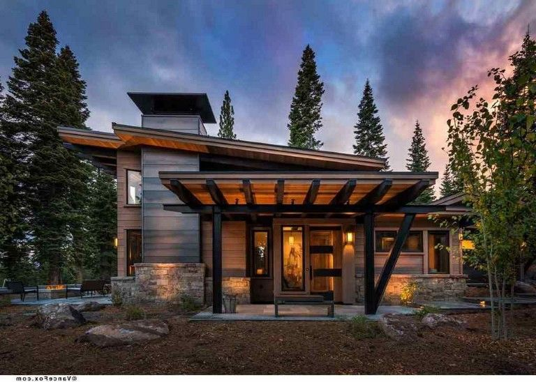 43 Best Artistic Roof Design That Amazes You Page 42 Of 45 Mountain House Plans Modern Mountain Home Cabin House Plans