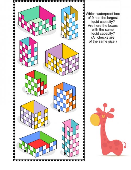 Count Your Cubes 2 Brain games, Free puzzles, Free