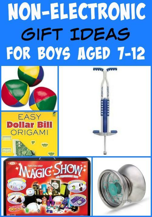 Non-Electronic Gift Ideas for Boys Aged 7-12 | Christmas ...
