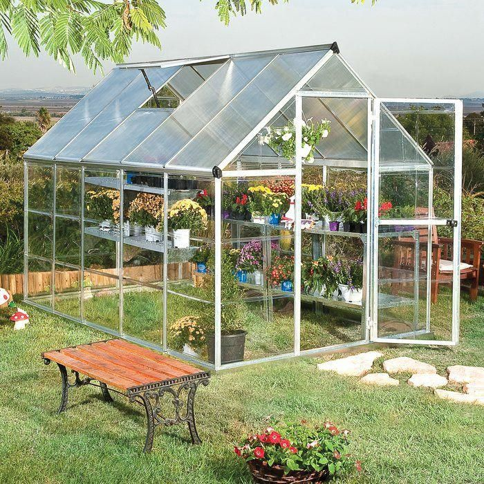 Photo of Hybrid 6 Ft. W x 10 Ft. D Greenhouse
