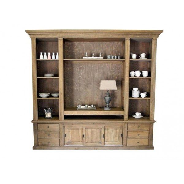 Landhaus TV-Schrank FLORIN oak Landhaus Möbel Pinterest - wohnzimmerschrank buche massiv