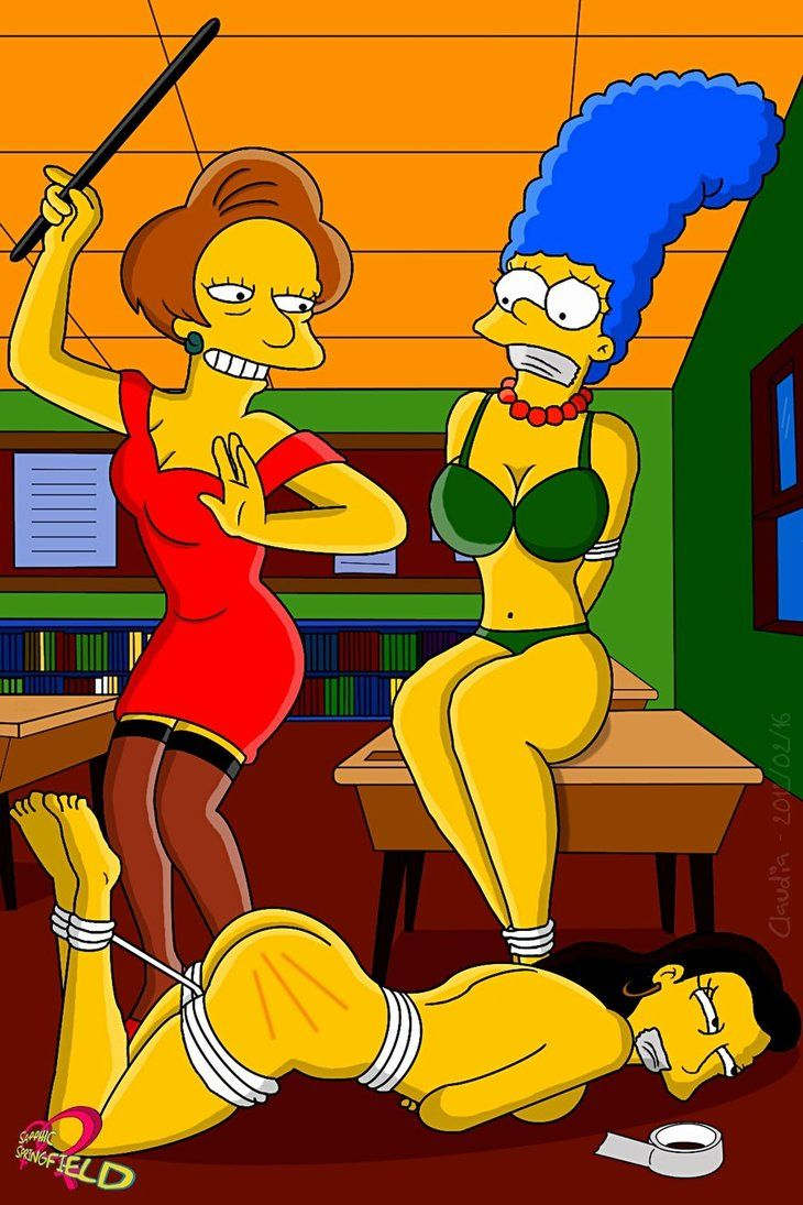 Nackte Marge Simpson