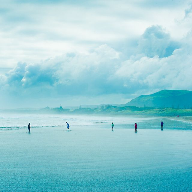 Beach by ►CubaGallery, via Flickr  taken on April 30, 2012 in Muriwai, Auckland, NZ.
