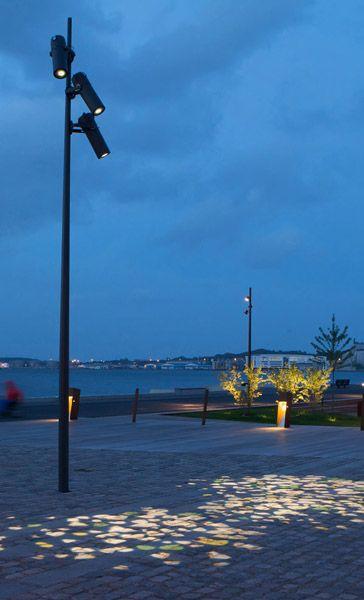 ÅF Lighting » Aalborg Harbour Front | exterior lighting | Pinterest ...
