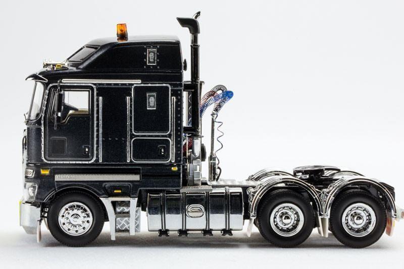 Kenworth K200 Prime Mover Diecast Truck In Charcoal Grey Drake 01354 1 50 Diecast Kenworth Trucks Diecast Trucks
