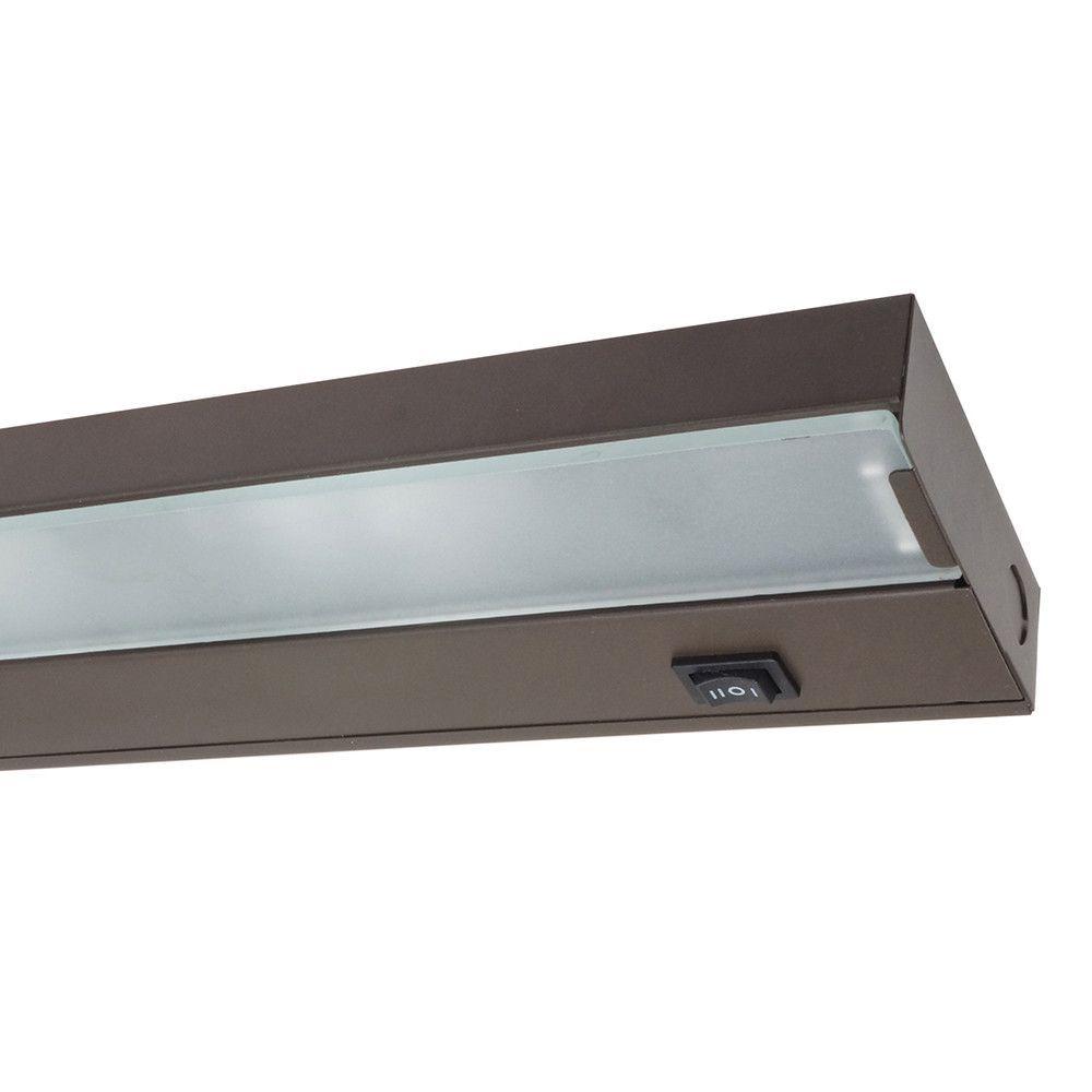 Nicor 21 1 2 In Xenon Uc Bronze Under Cabinet Light Under