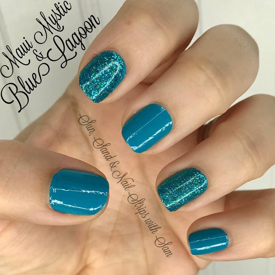 Color Street Nails Color Street Nails Nails Teal Nails