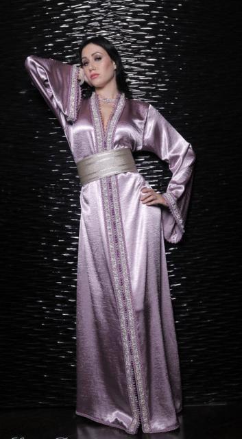 جلابيات مغربية راقية من تصاميم سلمى بنعمر - Selma Design #جلابيات-مغربية