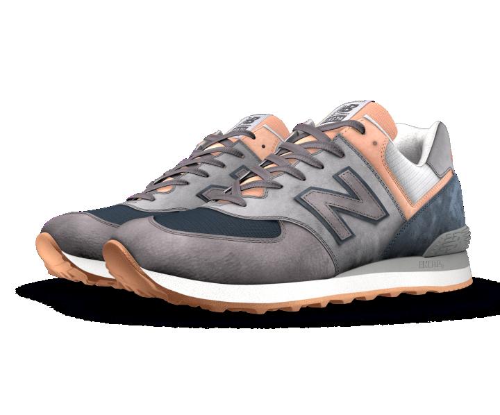 new styles 63a90 20b74 New Balance Custom 574 | scarpe | New balance, Sneakers, Fashion