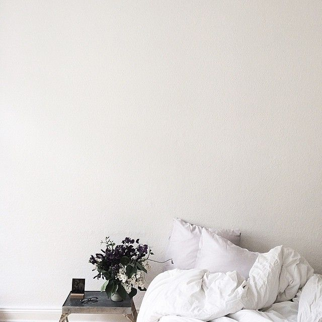 Morning in bed with a smell of flours, good book, coffee and nothing else to…