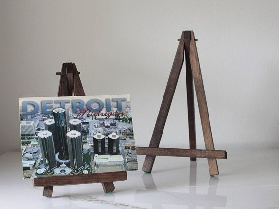 wooden easel picture holder picture display postcard