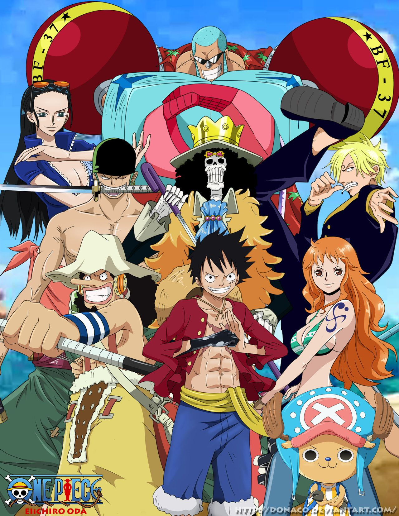 ONE PIECE CIRCLE OF CHARACTERS POSTER 24x36-52975