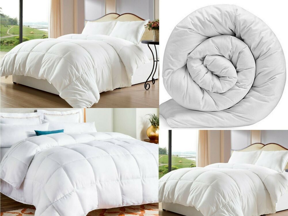 Price Gbp 9 99 To 17 99 Extra Deep Duvet Single Double Super King Size Bed 4 5 10 5 13 5 15 Tog Super King Size Bed King Size Bed Bed