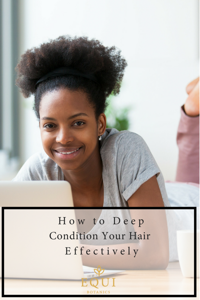 How To Deep Condition Your Hair - Natural Hair Tips When you have a hair of natural hair - either l