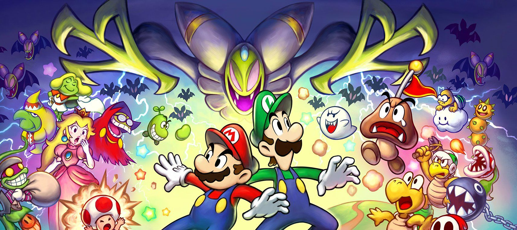 Review Mario Luigi Superstar Saga Bowser S Minions Mario