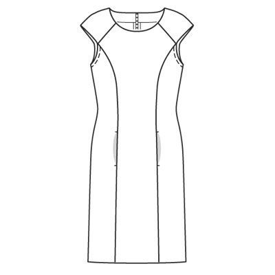 Photos robe dessin simple | robes | Pinterest | Robe, Fashion design and Silhouettes
