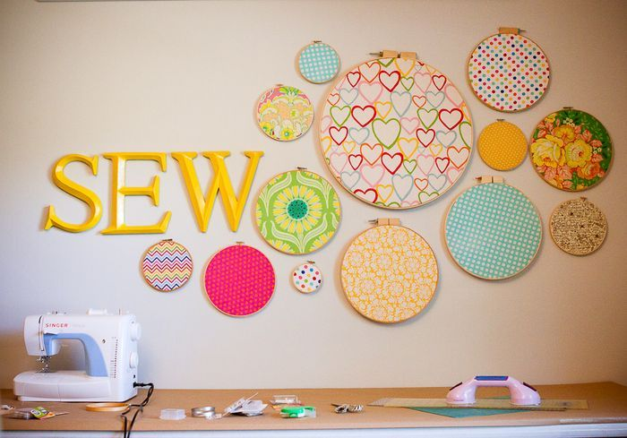 CRAFT WEEKEND...the awesome that was. | Sewing rooms, Room wall ...