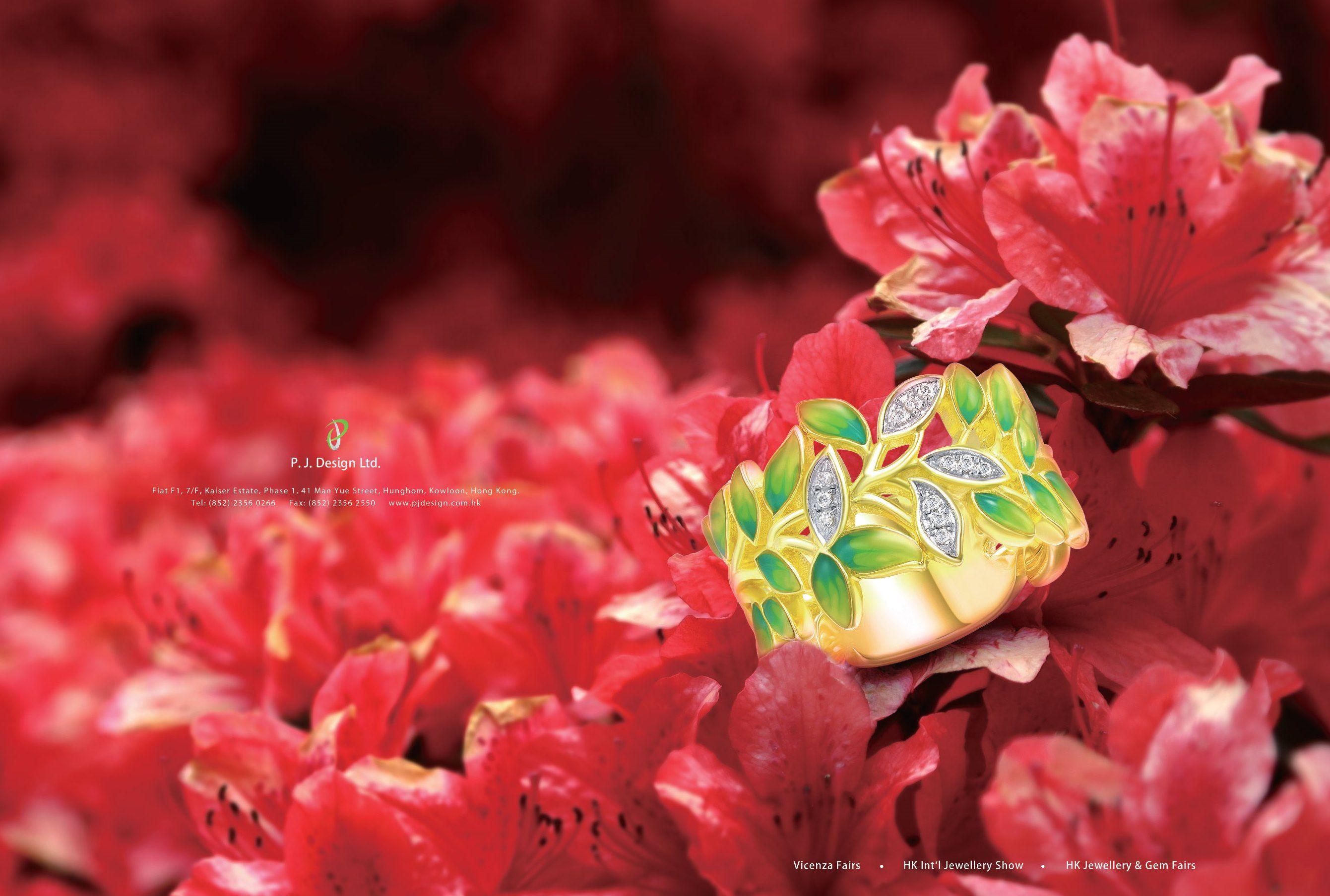 P.J. Design Ltd #HKJE #Magazine #FallWinter2015 #Advertisement #jewellery #diamond #finejewellery