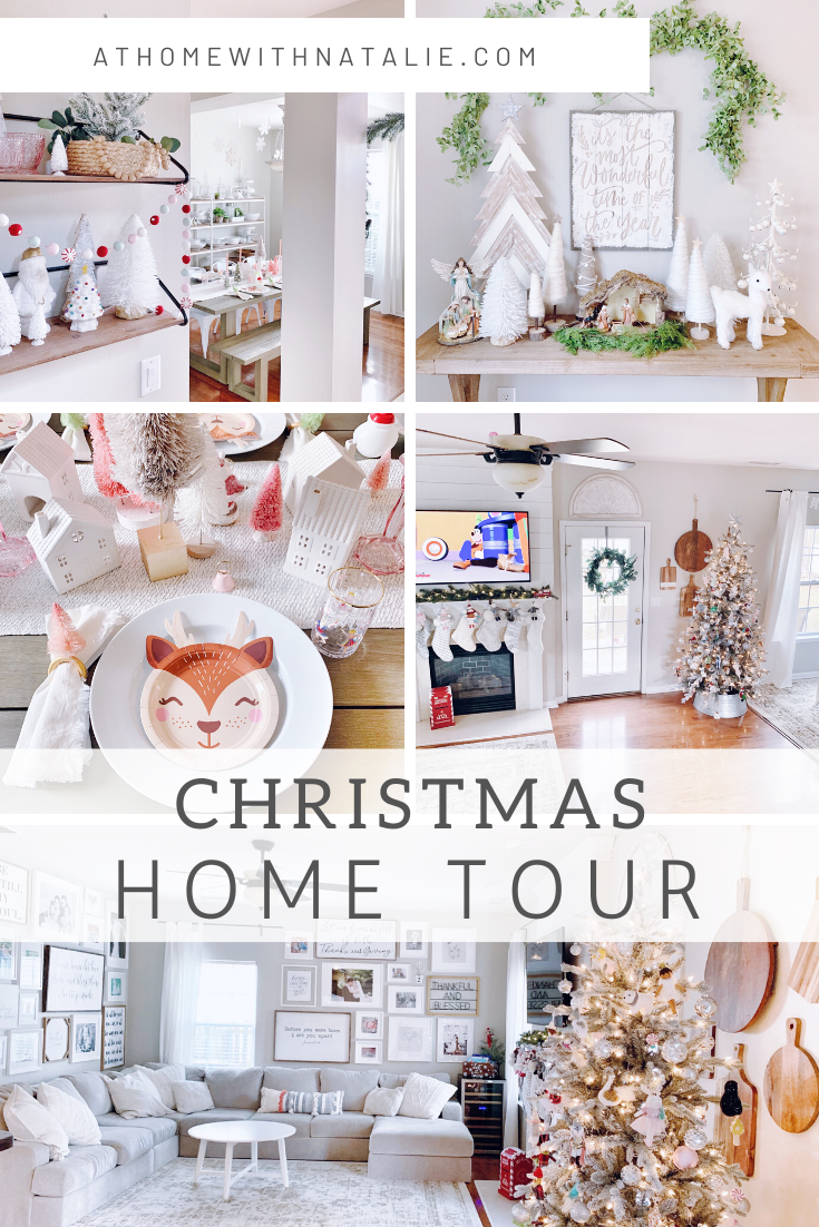 Christmas 2019 Home Tour Sharing how we decorated for the