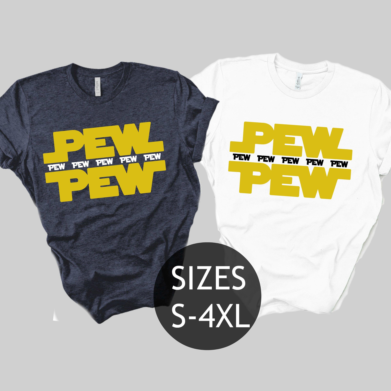 PEW PEW Shirt Funny Star Wars Shirt Disney shirts