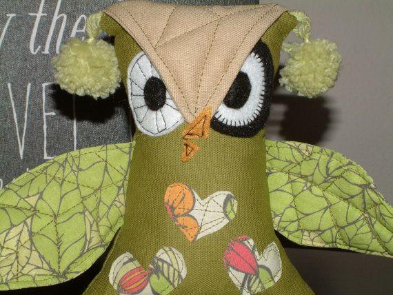 Owl Stuff Animal Morethanasmile by MoreThanASmile on Etsy