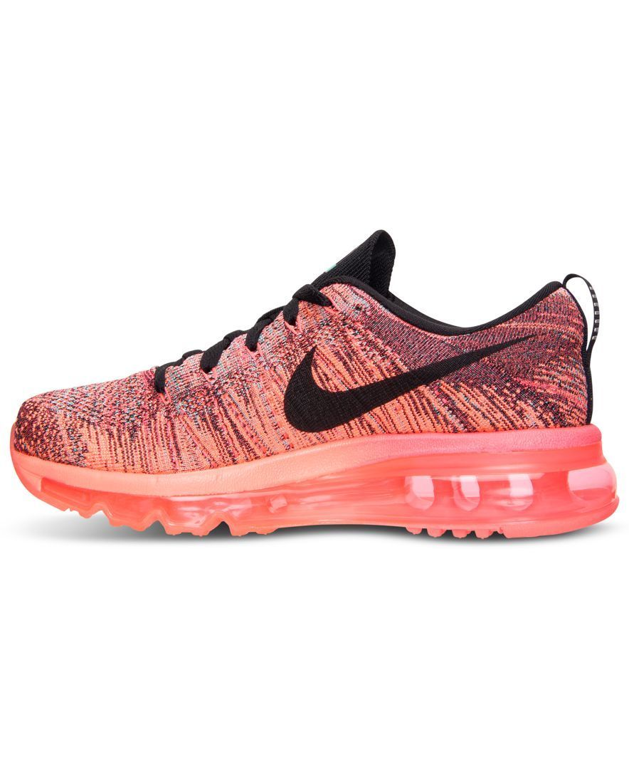def23fa26ab0 Nike Women s Flyknit Air Max Running Sneakers from Finish Line ...
