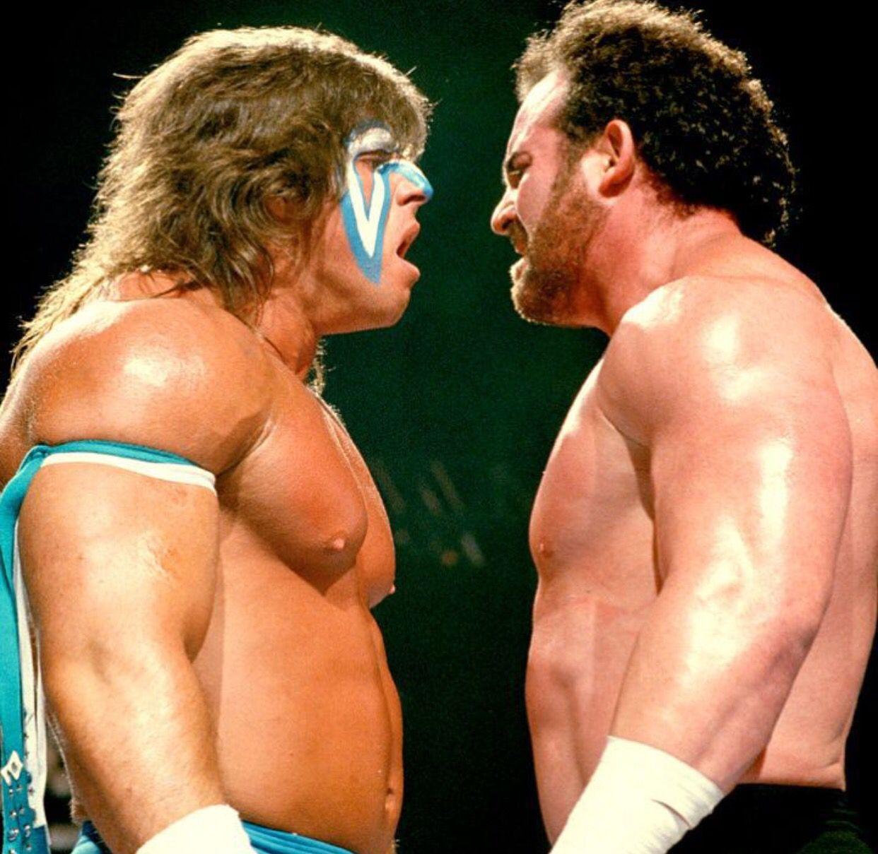 Ultimate Warrior vs. Hercules (1988) | Ultimate warrior, Pro ...
