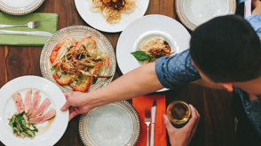 KitchenSurfing, $50 per dinner guest | Find the perfect, hand-crafted menu for your next special occasion. Book a local chef in your city to come prepare a meal in your home for you and your friends.