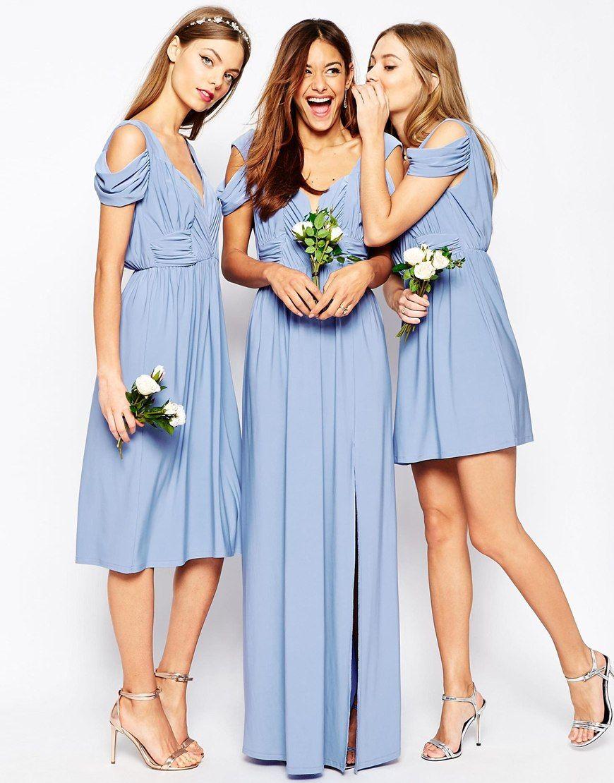Light Blue Bridesmaid Dresses | Made of Honor