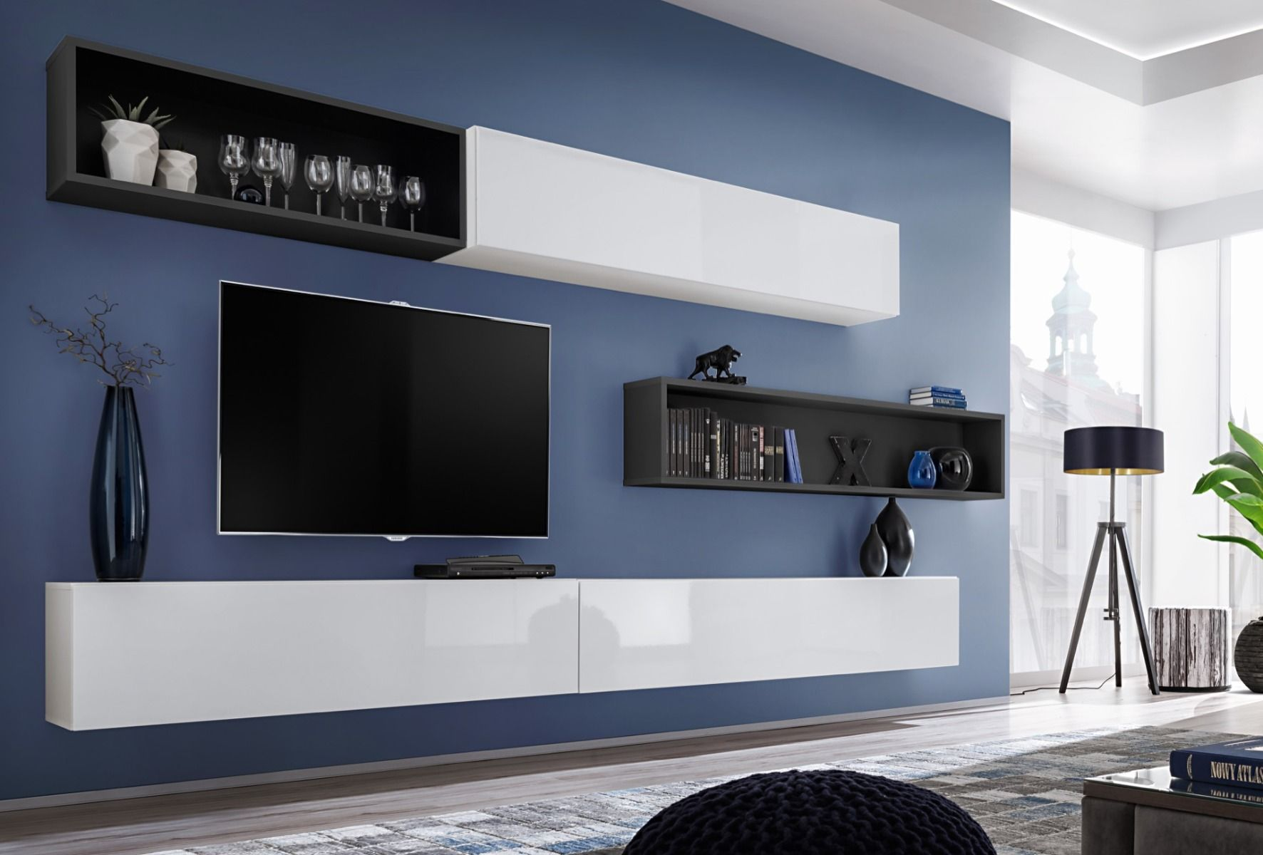 Meuble Tv Mural Meuble Tv Moderne Meuble Tv Hifi Meuble Tv Meubles Tv Design Meuble De Television Meuble Tel Moderne Tv Muur Kast Ontwerpen Meubels