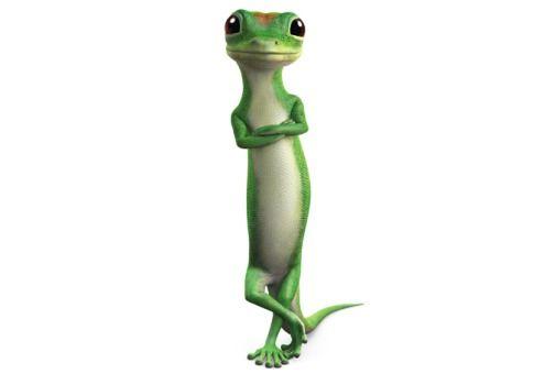 Geico Gecko Not A Person But Some Of The Commercials Are Cute M Geico Lizard Cartoon Lizard Gecko
