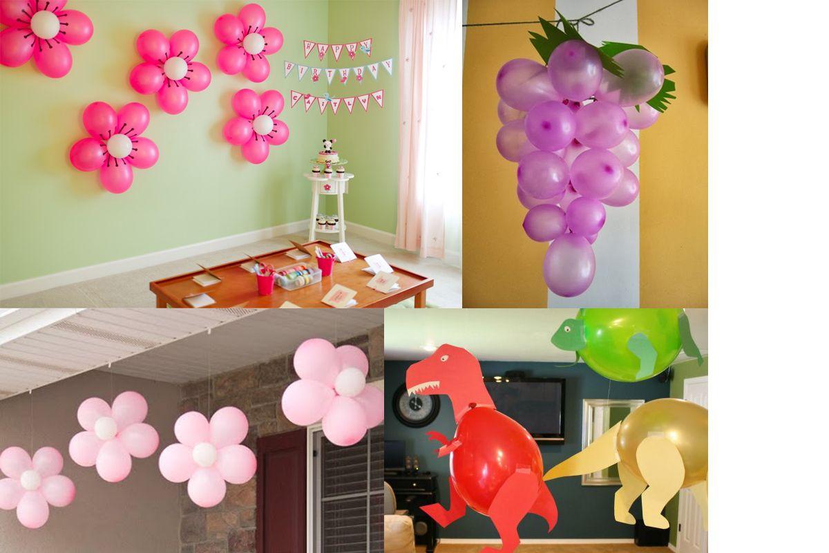 Cara Membuat Dekorasi Balon Ulang Tahun Sendiri Balon