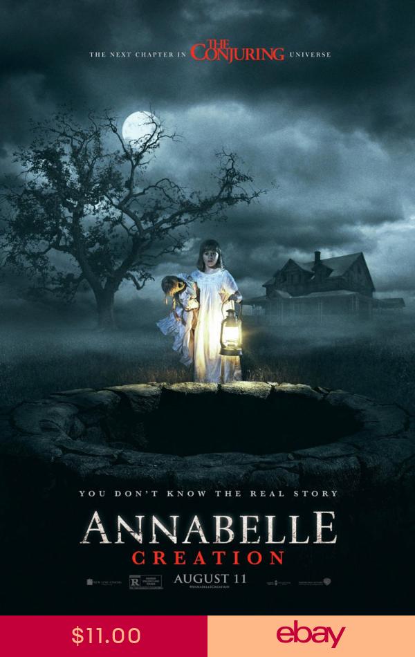 Annabelle Creation Movie Poster 2 Sided Original Advance 27x40 Stephanie Sigman Creation Movie Annabelle Creation Movie Annabelle Creation
