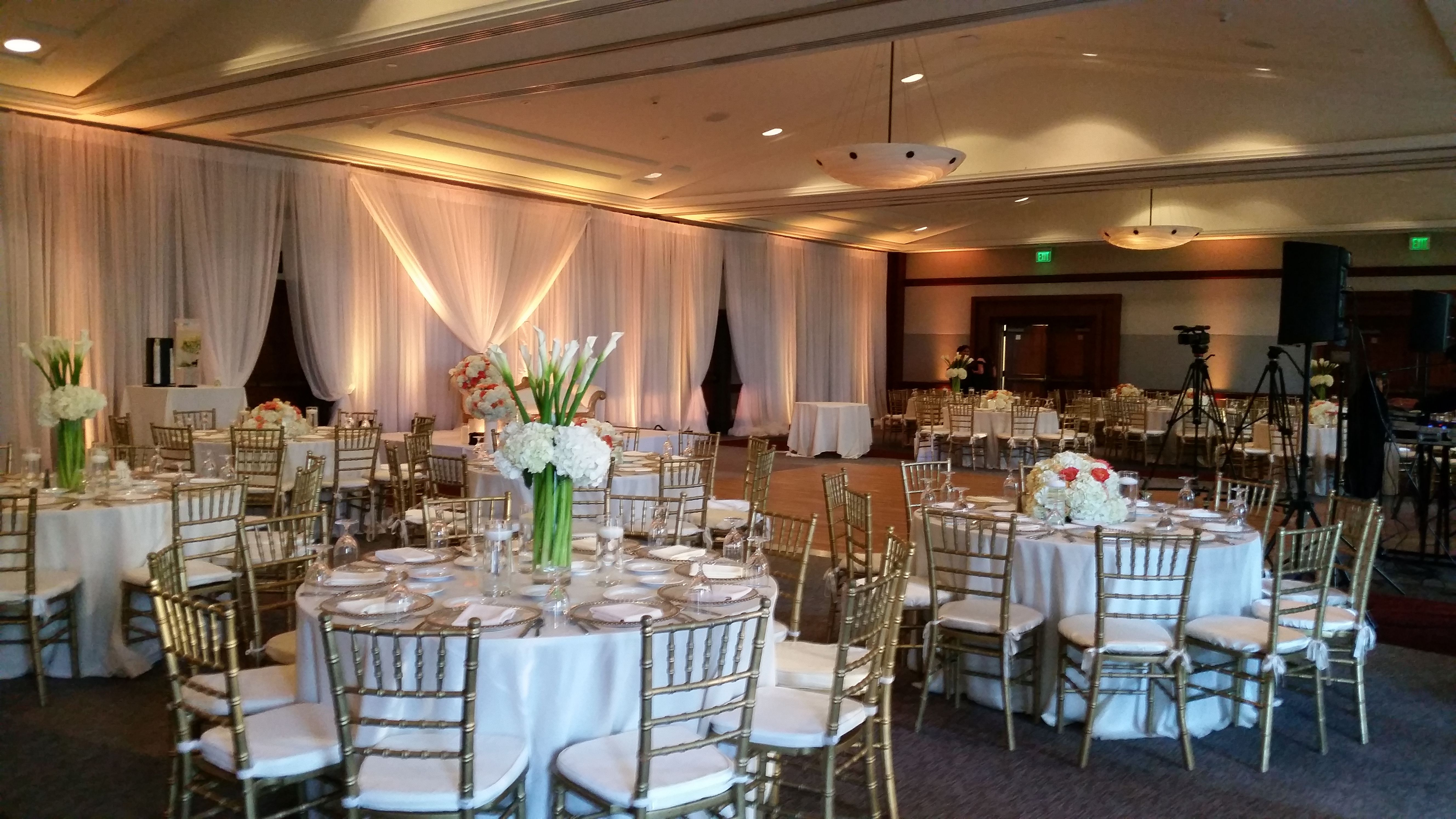 Mission Ballroom Wedding Reception Hyatt Weddingreception Missionbay Sandiego Socalwed Indoor Wedding Receptions Ballroom Wedding Reception Indoor Wedding