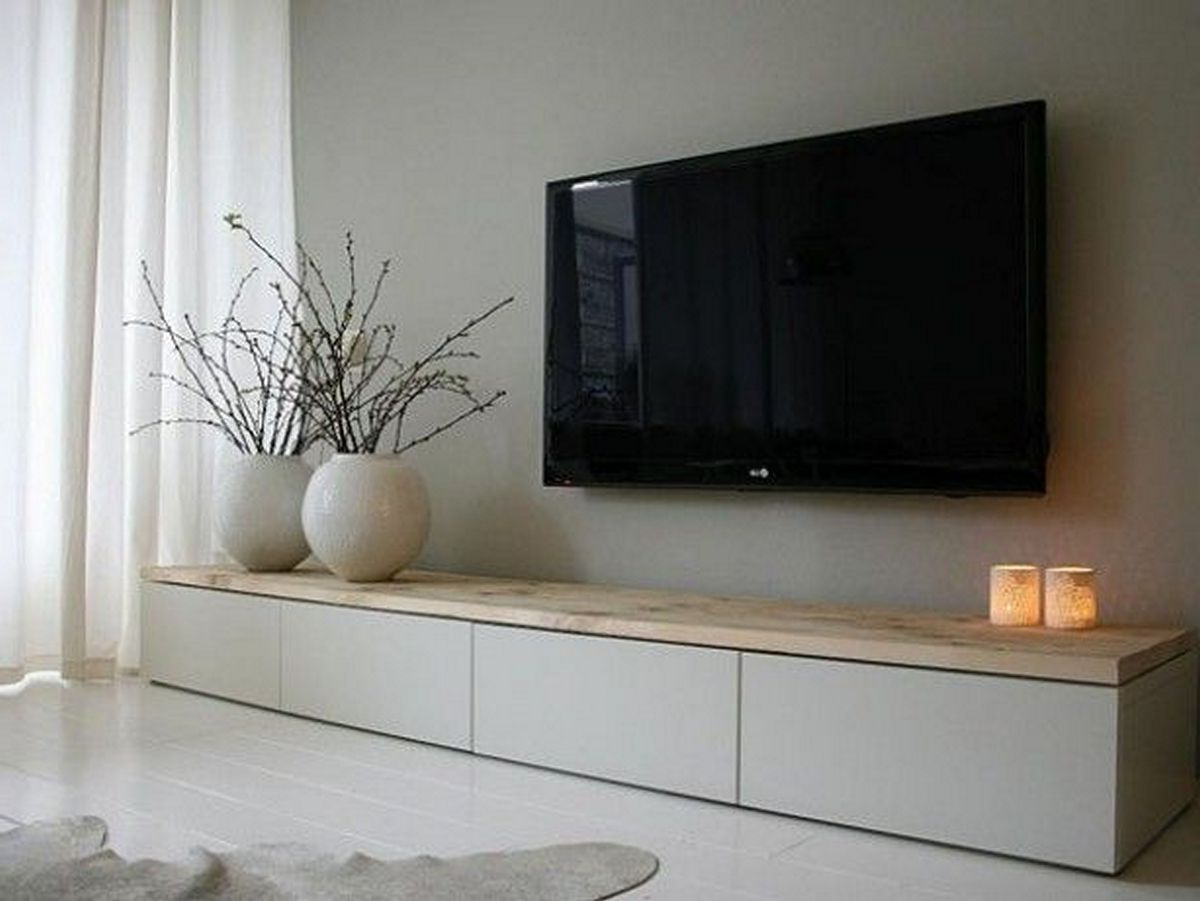 The Perfect Tv Wall Ideas That Will Not Sacrifice Your Look 14 Living Room Decor Apartment Living Room Wall Living Room Inspiration
