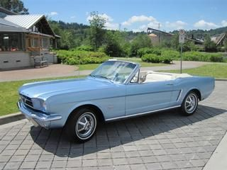 Used 1965 Ford Mustang Convertible For Sale Price Mustang Convertible Blue Mustang Mustang