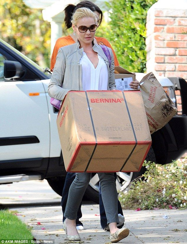 A crafty idea! Katherine Heigl decides to solve her fashion fails by ...