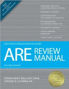 Are Review Manual Architect Registration Exam David Kent