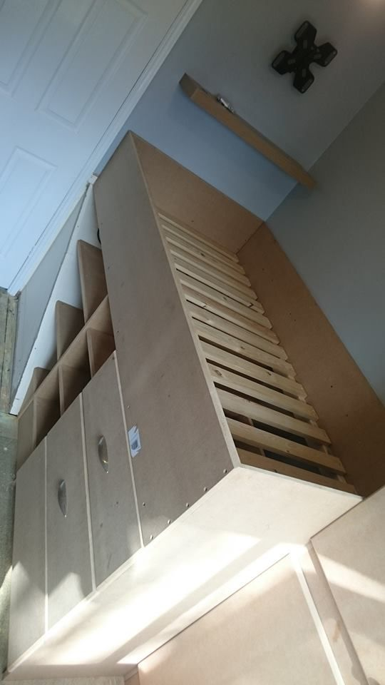 Stair Box In Bedroom: Pin By Iysha Carter On Seth's Bedroom In 2019