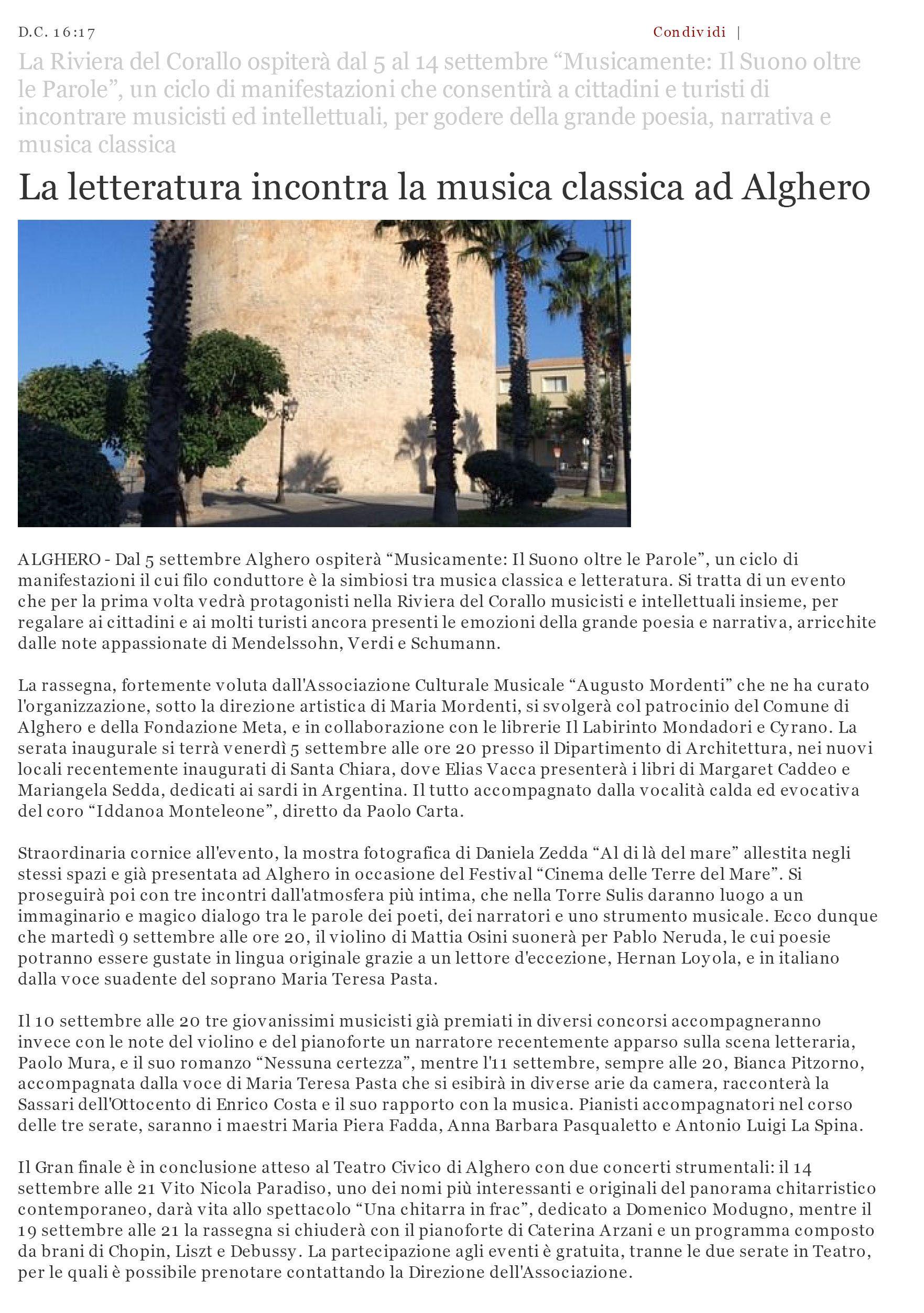 Alguer.it, 3 settembre 2014