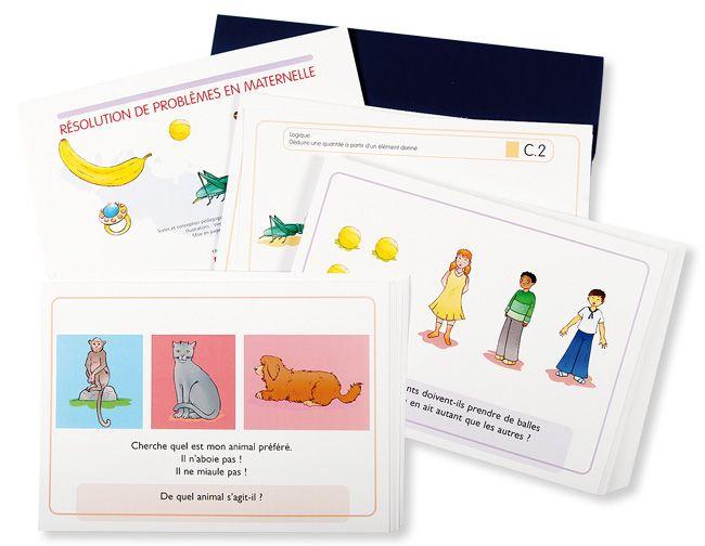 Resolution De Problemes Ms Gs Ce Support Pedagogique Vous Permettra De Mettre En Place Facilemen Resolution De Probleme Mathematiques Montessori Maternelle