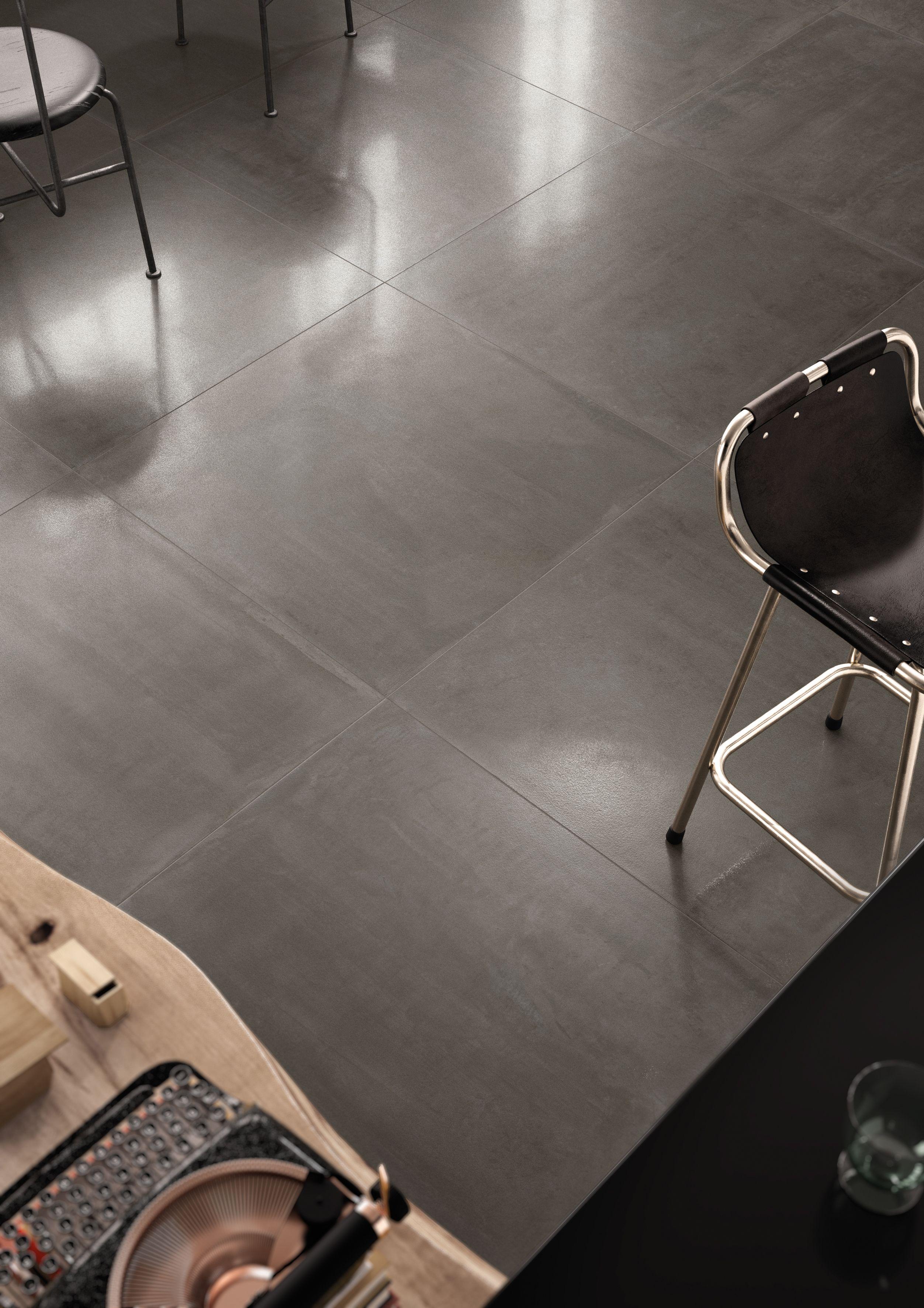 Carrelage Intérieur Effet Résine 30x60 Dark Soft Rectifié