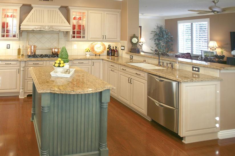 Giallo Veneziano Granite Countertops. Simple Backsplash Idea In A Kitchen  Similar To Mine