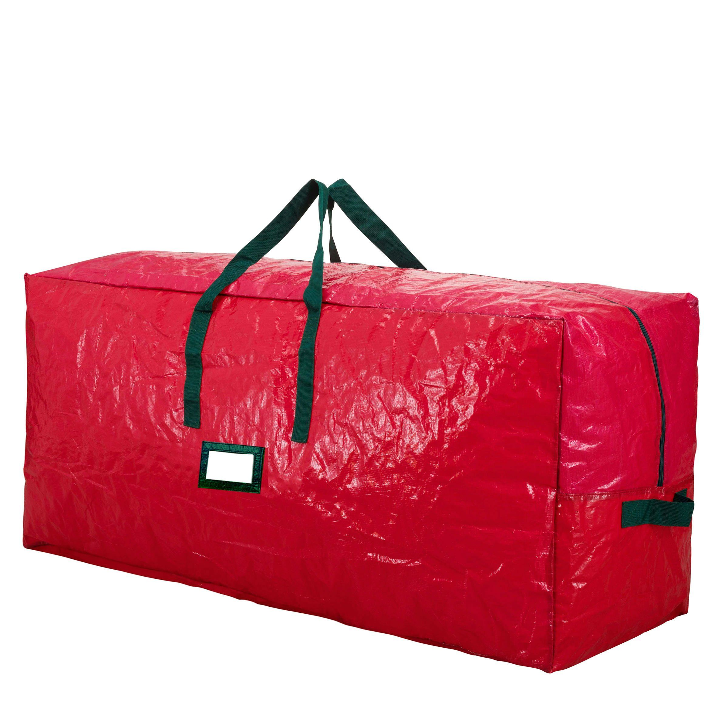 Premium Red Extra Large Holiday Christmas Tree Storage Bagfits Trees Up To 9 Feet Talltear R Tree Storage Bag Christmas Tree Storage Bag Christmas Tree Storage