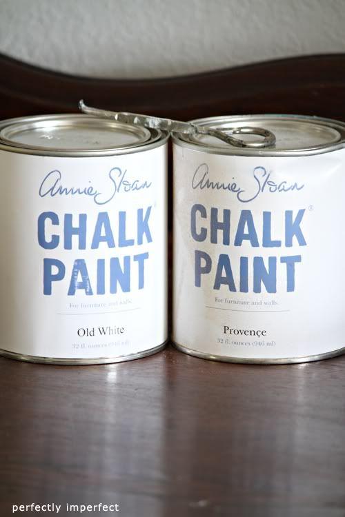 annie sloan - chalk paint