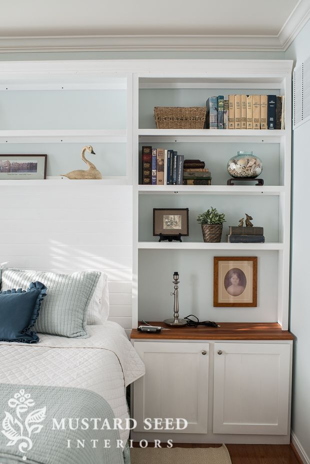 Built In Cabinets Above Bed Google Search Home Bedroom Coastal Bedrooms Sanctuary Bedroom